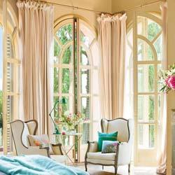 Шторы для загородного дома (фото в интерьере) - как подобрать шторы на дачу? - Штора на Дом