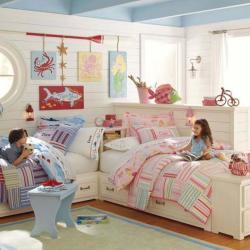 Выбор штор в детскую (фото в интерьере) , варианты оформления детской - Штора на Дом