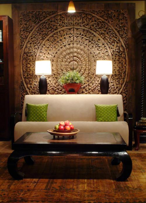 Азиатский стиль интерьера